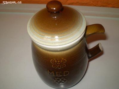 Keramická doza na med
