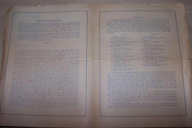 KONCERT  PLZEŇ 1934  /B163/ - Antikvariát