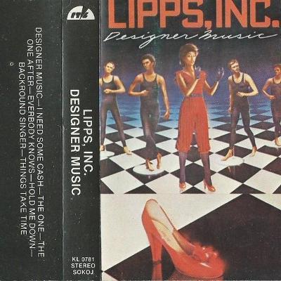 Audio Kazeta LIPS, INC Designer Music 1981 RTVL Yugoslavia