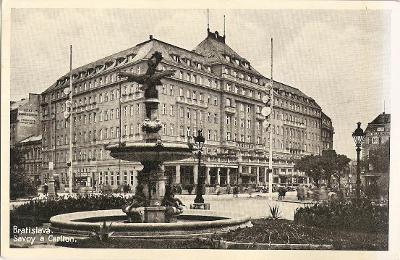 BRATISLAVA - Savoy a Carlton - Slovensko - MF
