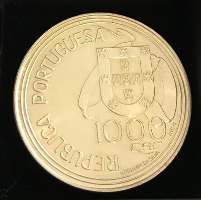 Ag 925/1000 1000 ESC REPUBLICA POTUGUESA 1494-1994