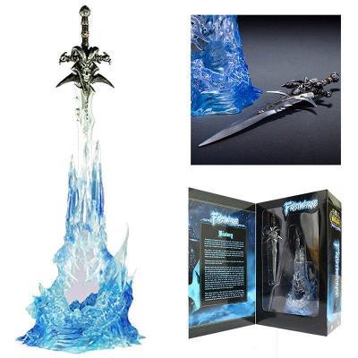 World Of Warcraft - replika meče ve svítícím stojanu Arthas Menethil