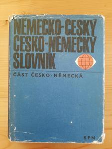 Německo-český česko-německý slovník část česko-německá