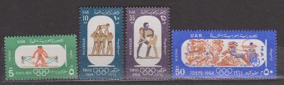 Egypt -  O.H.Tokio 1964