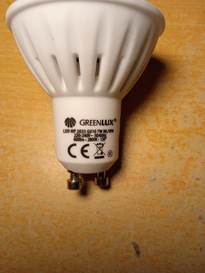 LED žárovka Greenlux GU10 600lm 7W 2800K - Zařízení