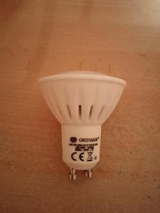 LED žárovka Greenlux GU10 600lm 7W 2800K