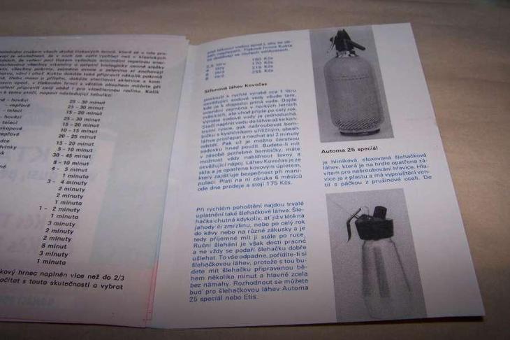 KUCHYŇSKÉ POTŘEBY POTŘEBY PLZEŇ  /B164/ - Antikvariát