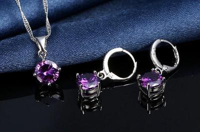 Souprava šperků se zirkonem
