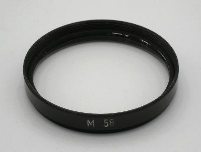 UV FILTR (58 mm) + POUZDRO v čistém stavu