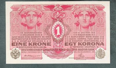 1 koruna 1916 bez přetisku stav UNC