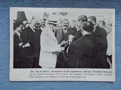 Brno  Výstava festival pivo várnictví  Masaryk prezident primátor měst