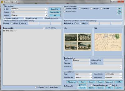 GULDINER Light. Počítačový program pro komplexní správu sbírek. CD.