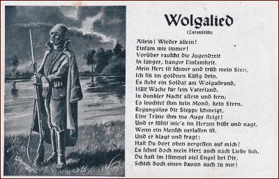 Deutsches Reich * Wehrmacht, Liedkarte, vojáci, propaganda * A220