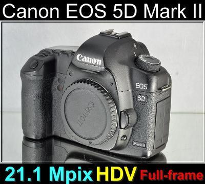 💥 Canon EOS 5D Mark II**full-frame*21,1MPix, Full HDV*TOP👍59000 Exp.