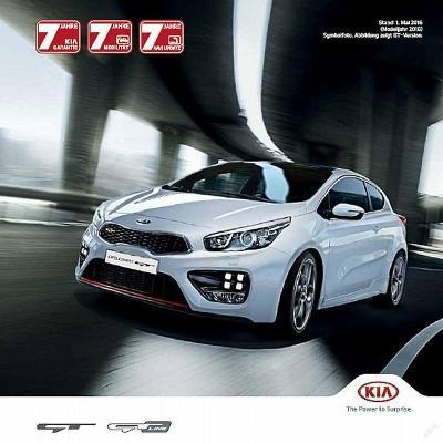 Kia Pro Ceed GT 07 / 2015 prospekt AT