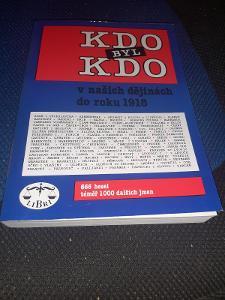 Kniha Kdo byl kdo v našich dějinách do roku 1918