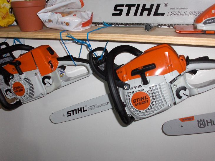 Silná STIHL 251 a kompaktní benzinová pila o výkonu 2,2kW ms 251+ŘETĚZ - Zahrada