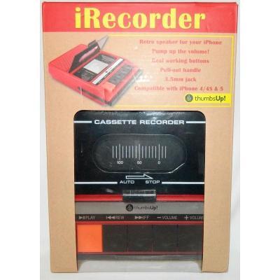 Irecorder /E27/ THUMBS UP / Černá / Zánovní