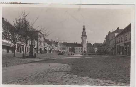 Boskovice, náměstí