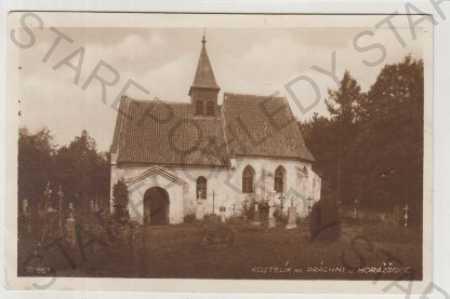 Horažďovice, Prácheň, kostelík, Bromografie