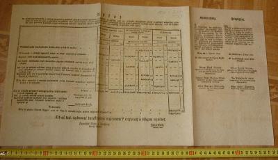 RU JAN KŘTITEL HRABĚ Z PILATI , HRABĚ NEMES VÍDEŇ 2. LEDNA 1821