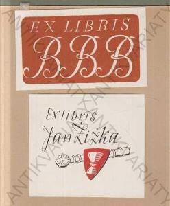 20 x Ex Libris Josef Solar