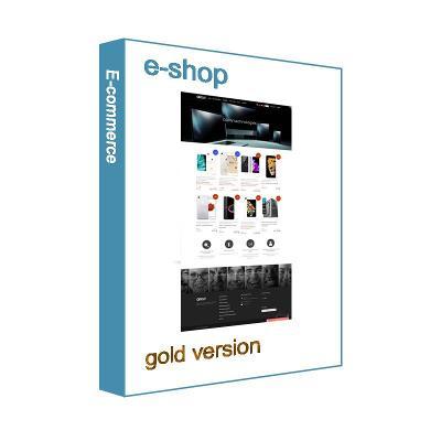 Licence eshopu (elektronického obchodu) - gold verze
