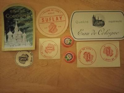 Etikety parfémy do roku 1948