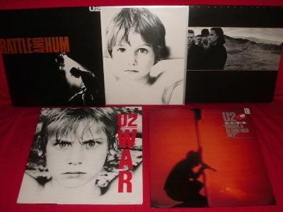U2 - sada 5 titulu, v super stavech, více v popisu. TOP!