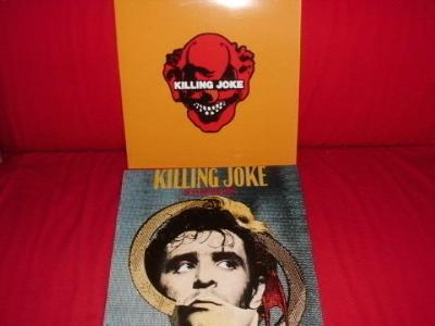 KILLING JOKE - Outside the.. orig. UK , Killing J. orig. EU, jako nové