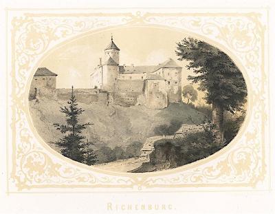 Richemburg, Pohlig, litografie, 1852