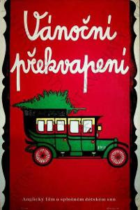 Vánoční překvapení Jana Mašíková film plakát