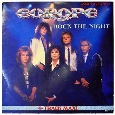 "Gramofonová deska EUROPE - Rock the night (12"")"