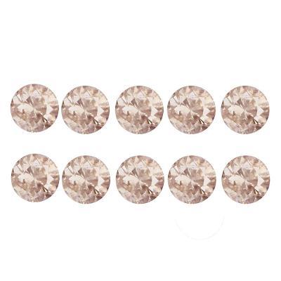 0,14ct - 10ks diamanty růžové přírod. SI3-I, Argyle,Austrálie