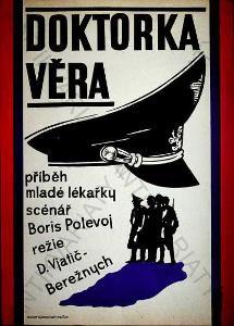 Doktorka Věra film plakát Věra Galová-Vodrážková