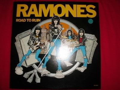 RAMONES - Road To Ruin orig. Canada, vnitřní obal, JAKO NOVÉ!