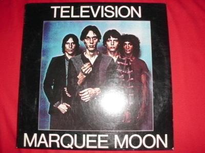 TELEVISION - Marquee Moon orig. US 1. vydání, JAKO NOVÉ!