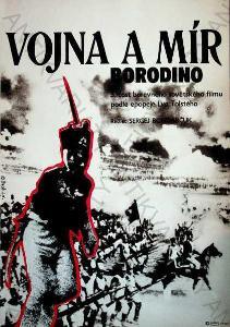 Vojna a mír - Borodino Jiří Stach film plakát