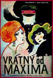 Vrátný od Maxima Dimitrij Kadrnožka film plakát