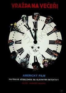 Vražda na večeři Kája Saudek film plakát R. Moore