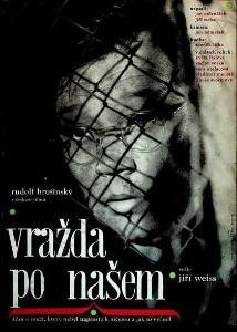 Vražda po našem Alena Hubíčková film plakát