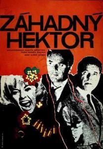 Záhadný Hektor Leoš Konáš film plakát A. Vohrer