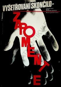 Zapomeňte W. A. Schlosser film plakát D. Damiani