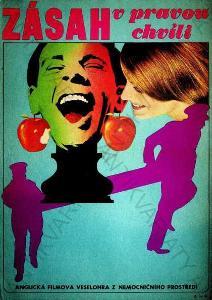 Zásah v pravou chvíli Jaromír Gal film plakát A3