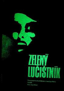 Zelený lučištník Zdeněk Vlach film plakát Roland