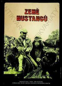 Země mustangů Jan Antonín Pacák film plakát