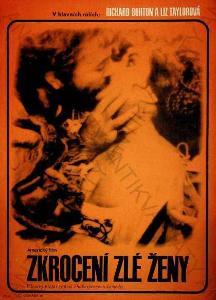 Zkrocení zlé ženy Radek Otčenášek film plakát 1968