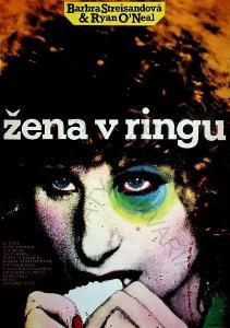 Žena v ringu Zdeněk Ziegler film plakát Streissand