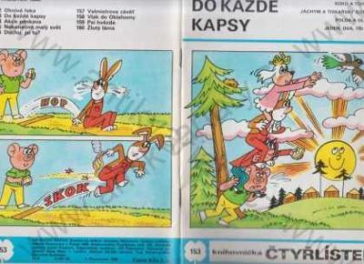 Čtyřlístek č. 153 - Do každé kapsy Ljuba Štíplová