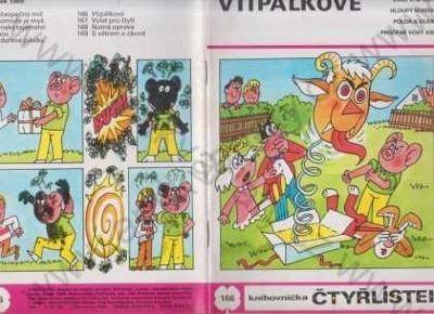 Čtyřlístek 166 - Vtipálkové 1989
